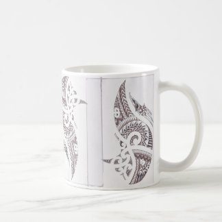 Taza De Café diseñador de lujo maorí 2
