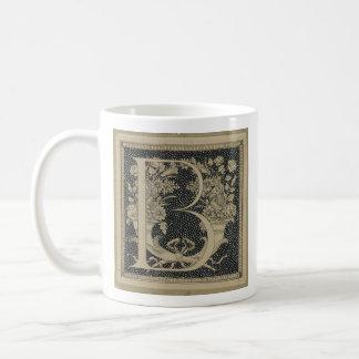 Taza De Café Diseño clásico de James Tissot del ~ inicial de la