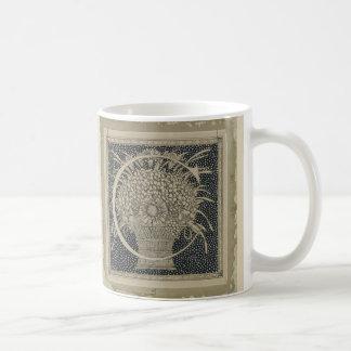 "Taza De Café Diseño clásico de Tissot del ~ de ""C"" de la letra"