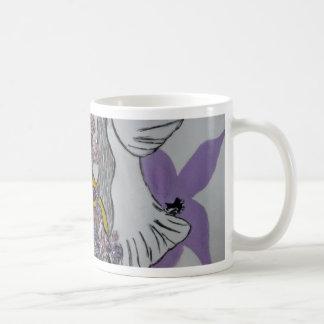 Taza De Café Diseño de las serpientes y de la mujer del pájaro