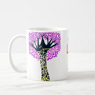 Taza De Café Diseño del árbol del arte curativo de Ashi Sharma