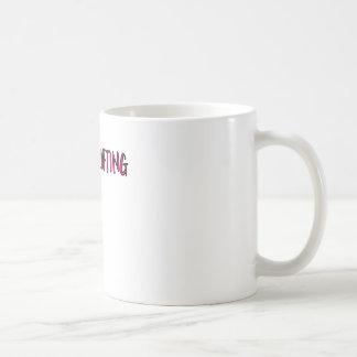 Taza De Café Diseño del levantamiento de pesas