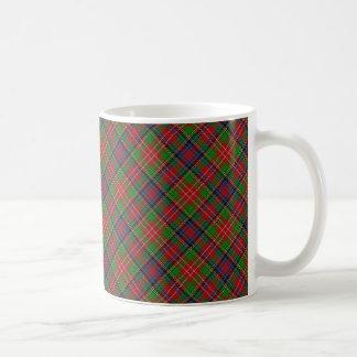 Taza De Café Diseño escocés del tartán de Christie