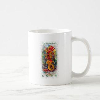 Taza De Café Diseño instrumental #8 del amor