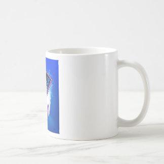 Taza De Café Diseño negro del arco del regalo de la venta de