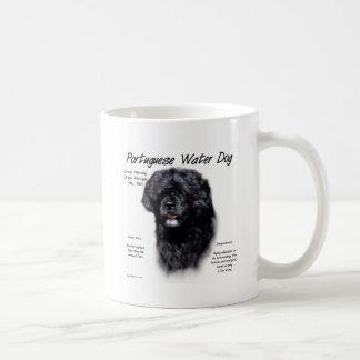 Taza De Café Diseño portugués de la historia del perro de agua