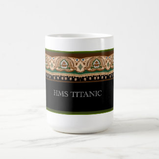 Taza De Café Diseño titánico de la primera clase