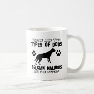 Taza De Café Diseños del perro de Malinois del belga