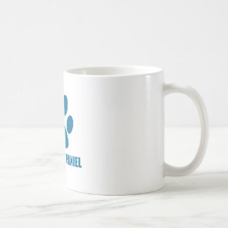 TAZA DE CAFÉ DISEÑOS TIBETANOS DEL PERRO DEL PERRO DE AGUAS