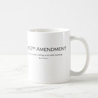 Taza De Café Dispare contra republicano de la enmienda de los