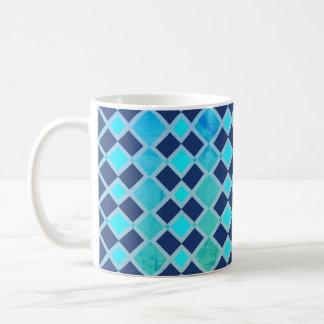 Taza De Café Diversión geométrica