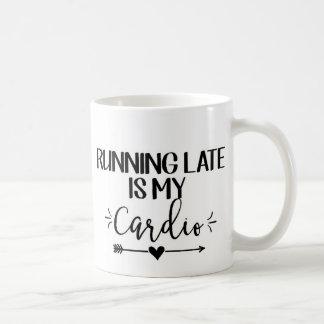 Taza de café divertida de la cita del gimnasio