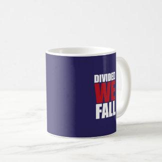 Taza De Café Divided We Fall Patriotism Quotes