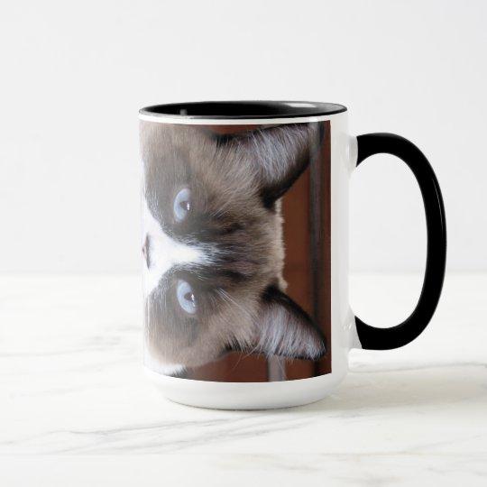 Taza de café doble del tiro