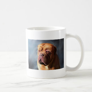 Taza De Café Dogue de Bordeaux Art - Dogue tempestuoso