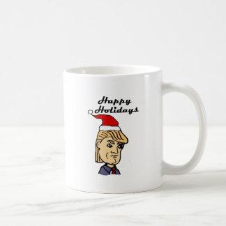 Taza De Café Donald Trump divertido en dibujo animado del