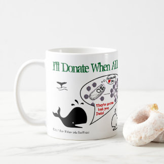Taza De Café Donaré cuando por RoseWrites