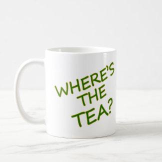 Taza De Café ¿Dónde está el té?