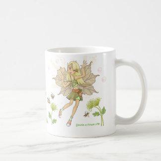 Taza De Café Doolie de las colinas de la flor
