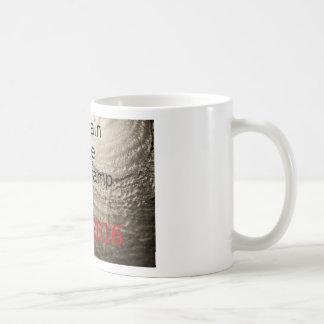 Taza De Café Drene el diseño político de Triunfo-Clinton del