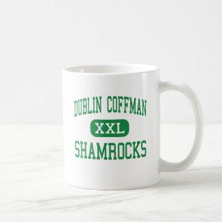 Taza De Café Dublín Coffman - tréboles - alto - Dublín Ohio