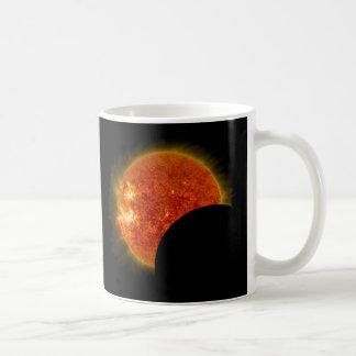 Taza De Café Eclipse solar en curso