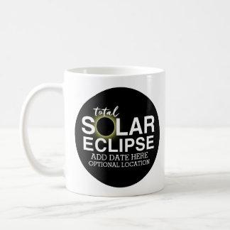 Taza De Café Eclipse solar total 2017 - fecha y ubicación de