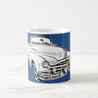 Taza De Café Ejemplo de plata 1948 del coche de la raya de