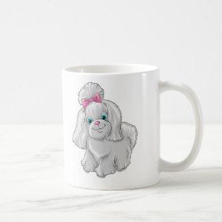 Taza De Café Ejemplo de un terrier de Yorkshire lindo del perro