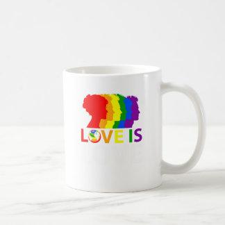 Taza De Café El amor es amor