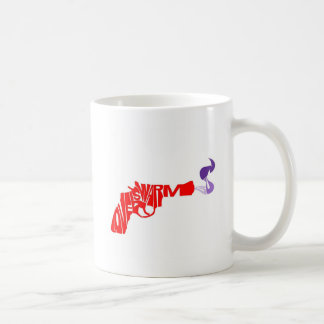 Taza De Café El amor es un arma caliente