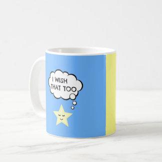 Taza De Café El amor lindo de la estrella y del corazón de