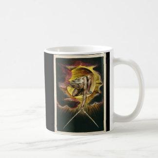 """Taza De Café """"El antiguo diseño de Guillermo Blake del ~ de la"""