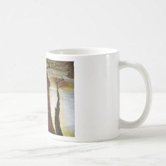 Taza De Café El árbol de la vida con el camino ese th de