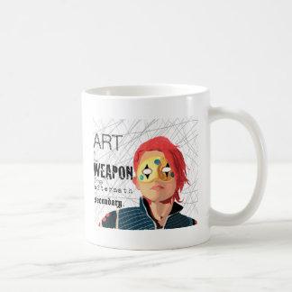 Taza De Café El arte es el arma