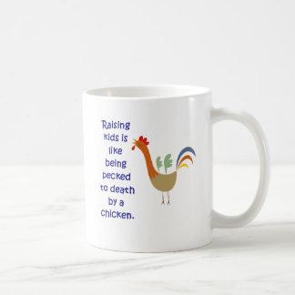 Taza De Café El aumento de niños es como ser picoteado a la