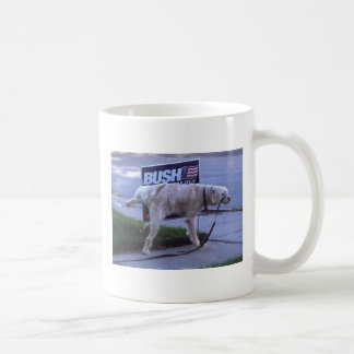 Taza De Café el bueno-perro, todavía no cree el intellig del