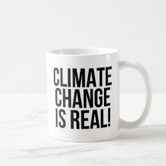 Taza De Café ¡El cambio de clima es real! Mundo de la tierra