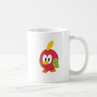 Taza De Café el caminar del pájaro que habla