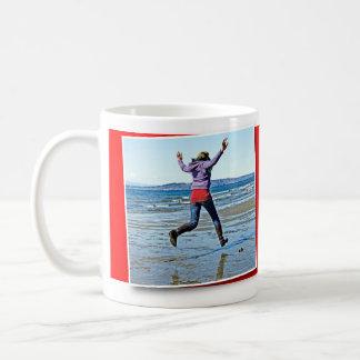 Taza De Café El caminar en el agua