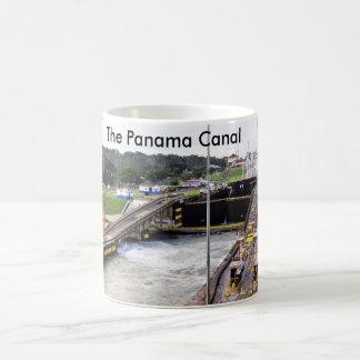 Taza De Café El Canal de Panamá, alta fotografía de Def
