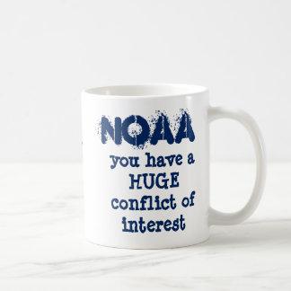 Taza De Café El conflicto de intereses de NOAA por RoseWrites