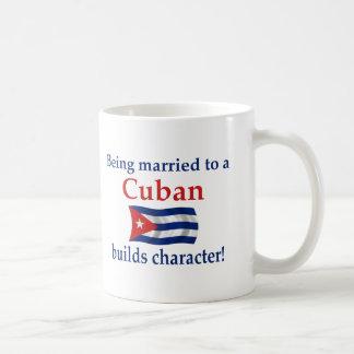 Taza De Café El cubano construye el carácter