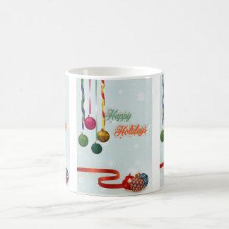 Taza De Café El día de fiesta feliz adorna la versión 2