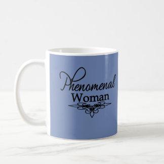 Taza De Café El día de madre fenomenal de la mujer/cualquier