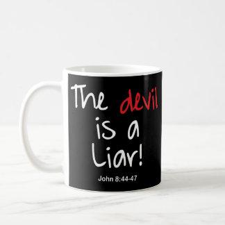 Taza De Café ¡El diablo es un mentiroso!