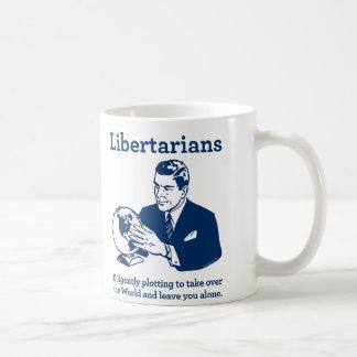 Taza De Café El diagrama libertario