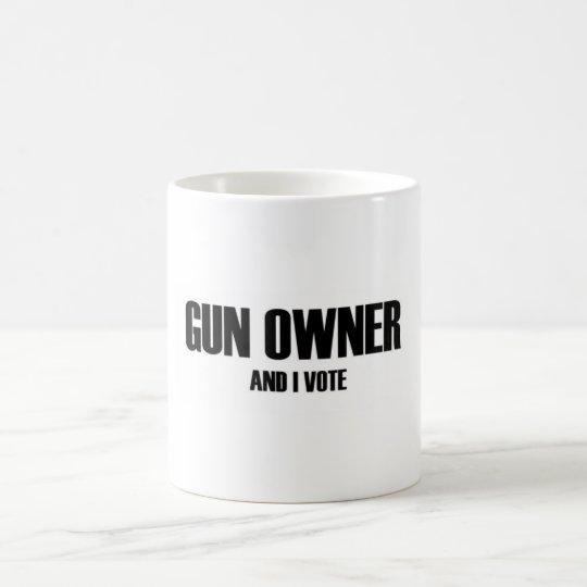 Taza De Café El dueño y yo de arma votamos