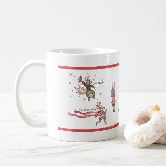 Taza De Café El equipo de Santa