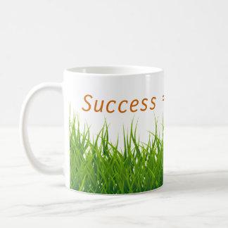 Taza De Café El éxito es felicidad